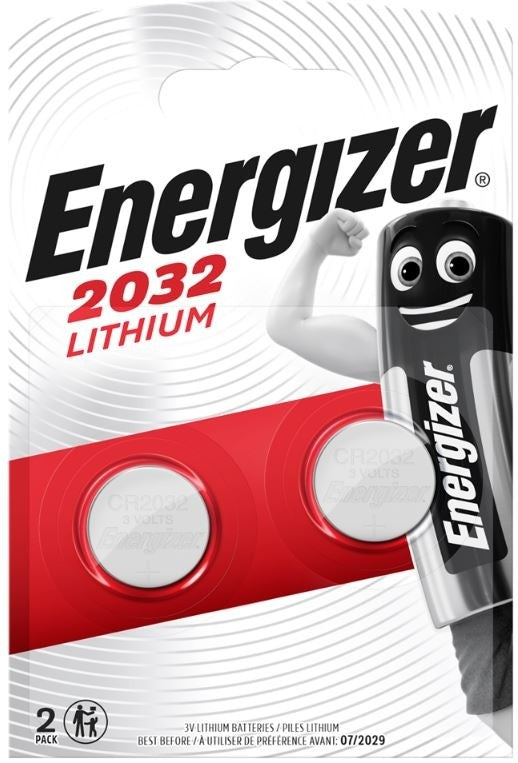 Energizer CR2032 3v Lithium Coin Batteries