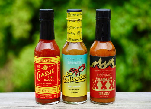 Hot Ones Trio Pack Original Line-up - Super Hot Sauces