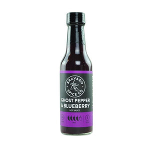 Ghost Pepper and Blueberry Hot Sauce - Bravado Spice Co. Super Hot Sauces