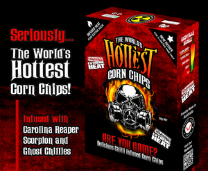 The World's Hottest Corn Chips - Super Hot Sauces