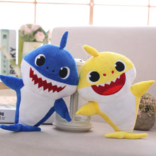 Load image into Gallery viewer, Music And Lighting Baby Shark Singing Cartoon Plush Toys