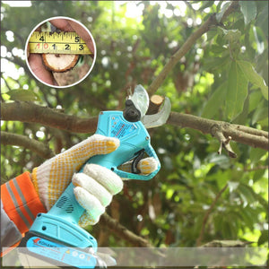 "8"" Pruning Shears or Electric branch scissors-Make Your Gardening Work Easy"