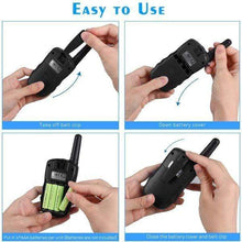 Load image into Gallery viewer, 2 Pack HD Sound Walkie Talkies Set For Kids