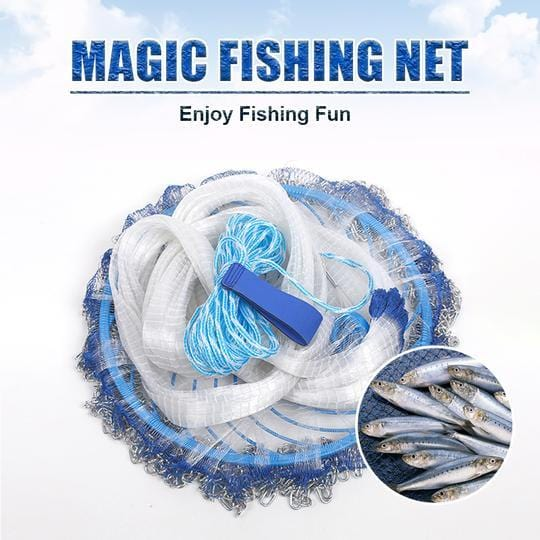 Free Shipping Magic Fishing Net