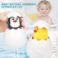 Load image into Gallery viewer, Baby bathing swimming sprinkler toy Easter Egg