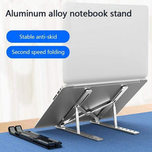 Load image into Gallery viewer, Portable laptop stand(BUY TWO  FREE SHIPPING)