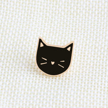 Load image into Gallery viewer, 2 Pcs Set Cute Cat Brooch Pin Badge