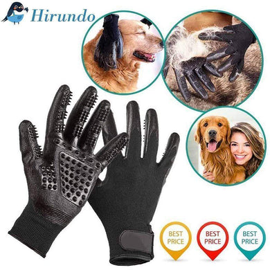 Hirundo Pet Grooming Gloves For Cats, Dogs & Horses - ( 1 pair )