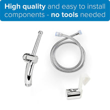Load image into Gallery viewer, Hand Held Toilet Bidet Sprayer, 59'' Hose & Easy to Install