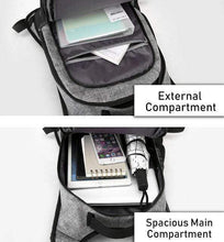 Load image into Gallery viewer, Anti-Theft Backpack with USB charging