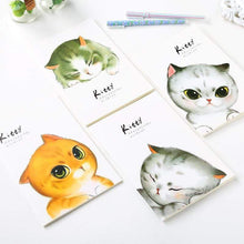 Load image into Gallery viewer, Cartoon Notebook A5 Cute Cat School Planner