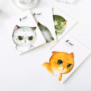 Cartoon Notebook A5 Cute Cat School Planner