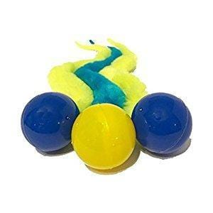 Wiggly Bouncy Ball Cat Toy