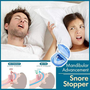 Mandibular Advancement Snore Stopper