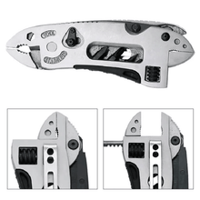 Load image into Gallery viewer, Multi-Tool Pliers Jaw Screwdriver Survival Tool Adjustable Wrench