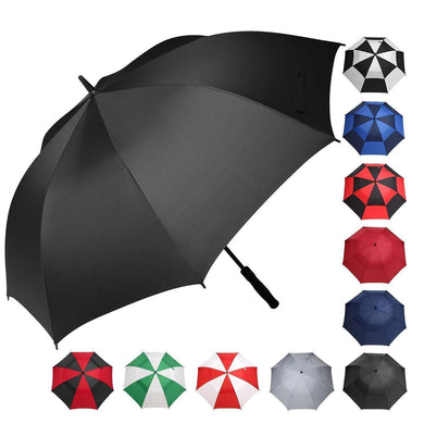 BAGAIL Golf Umbrella-Double Vented Windproof Waterproof Automatic Open Stick Umbrellas