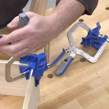 Load image into Gallery viewer, 90 Degree Angle Carpenter's Clamp