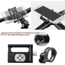 Load image into Gallery viewer, Aluminum Alloy Mobile Phone Rack For Mountain Bike