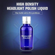 Load image into Gallery viewer, High Density Headlight Polish Liquid