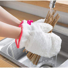 Load image into Gallery viewer, Bamboo Fiber Dishwashing Gloves