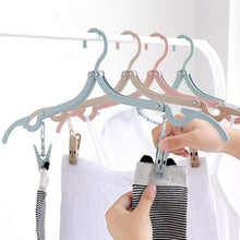 Load image into Gallery viewer, Telescopic Folding Clothes-Hanger