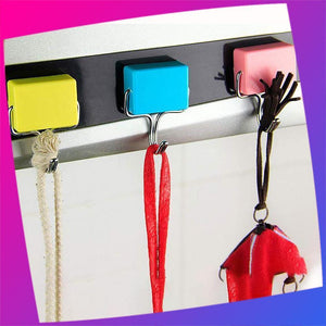 180 Degree Reusable Strong Magnetic Hooks