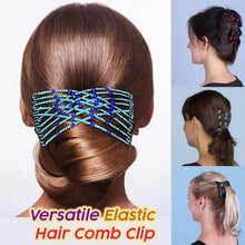 Load image into Gallery viewer, Versatile Elastic Hair Comb Clip