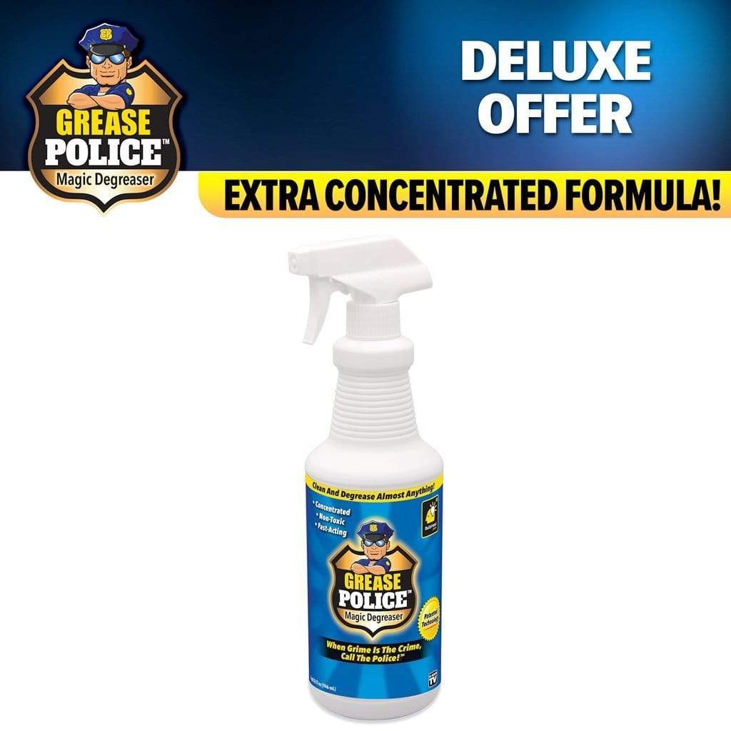 Deluxe Grease Police Magic Degreaser
