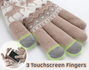 Extra-warm Fleece Touchscreen Gloves