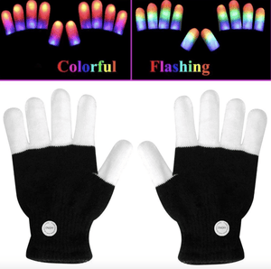 LED GLOVES FINGER LIGHTS - SPECIAL GIFT