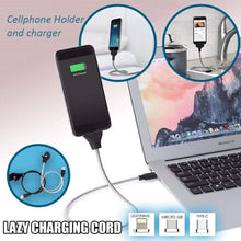 Load image into Gallery viewer, Lazy Charging Cable Stand