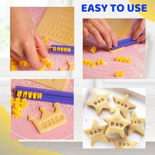 Load image into Gallery viewer, Alphabet Stamp Cookies Mold