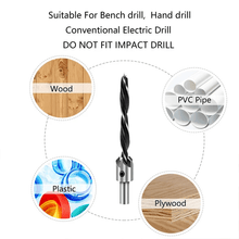 Load image into Gallery viewer, Countersink Drill Bits (7 PCS)