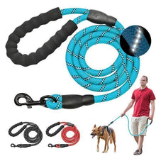 Load image into Gallery viewer, Reflective Large Leash Nylon