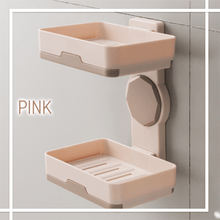 Load image into Gallery viewer, 2-Way Quick-Drying Adhesive Soap Holder