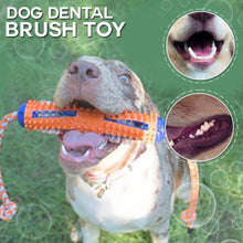 Load image into Gallery viewer, 2-in-1 Toothbrush Chew Toy for Dogs