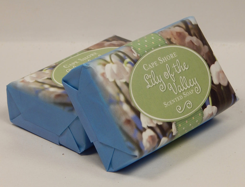 """Lily of the Valley"" Scented Bar Soap<br>by Cape Shore"