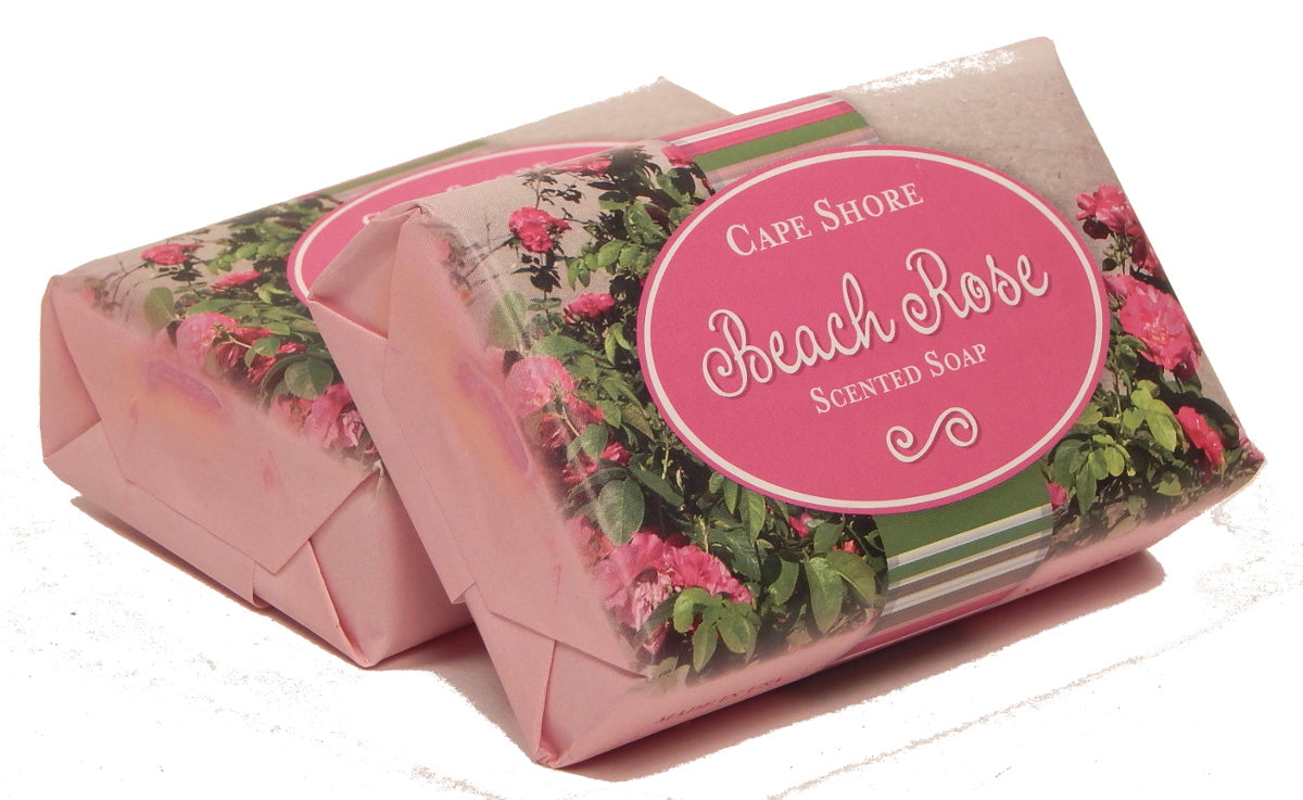 """Beach Rose"" Scented Bar Soap<br>by Cape Shore"