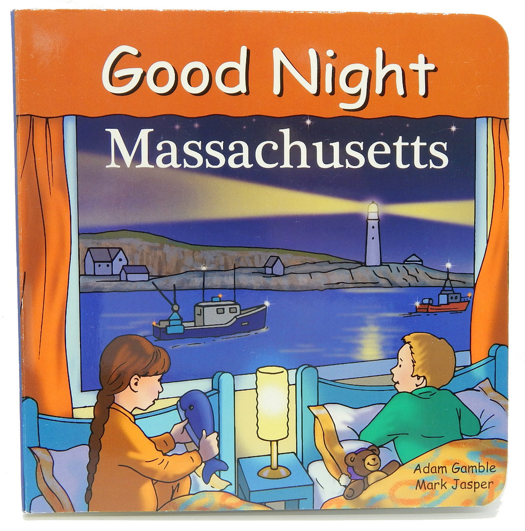 Good Night Massachusetts<br>Kids Board Books