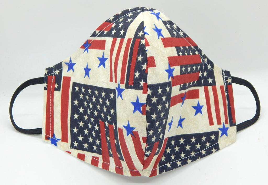 Americana<br>COVID-19 Masks<br>Available in 2 Sizes