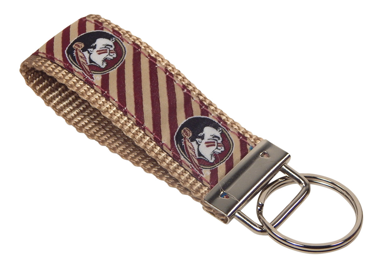 Florida State Seminoles, ACC Conference, NCAA, Classic Ribbon Key Ring