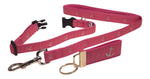 "Preston Ribbons ""Glittery Silver Anchor"" Collar and Leash, SMALL Dogs, FREE Matching Key Ring"