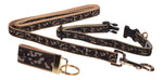 "Preston Ribbons ""Camo"" Collar and Leash, SMALL Dogs, FREE Matching Key Ring"