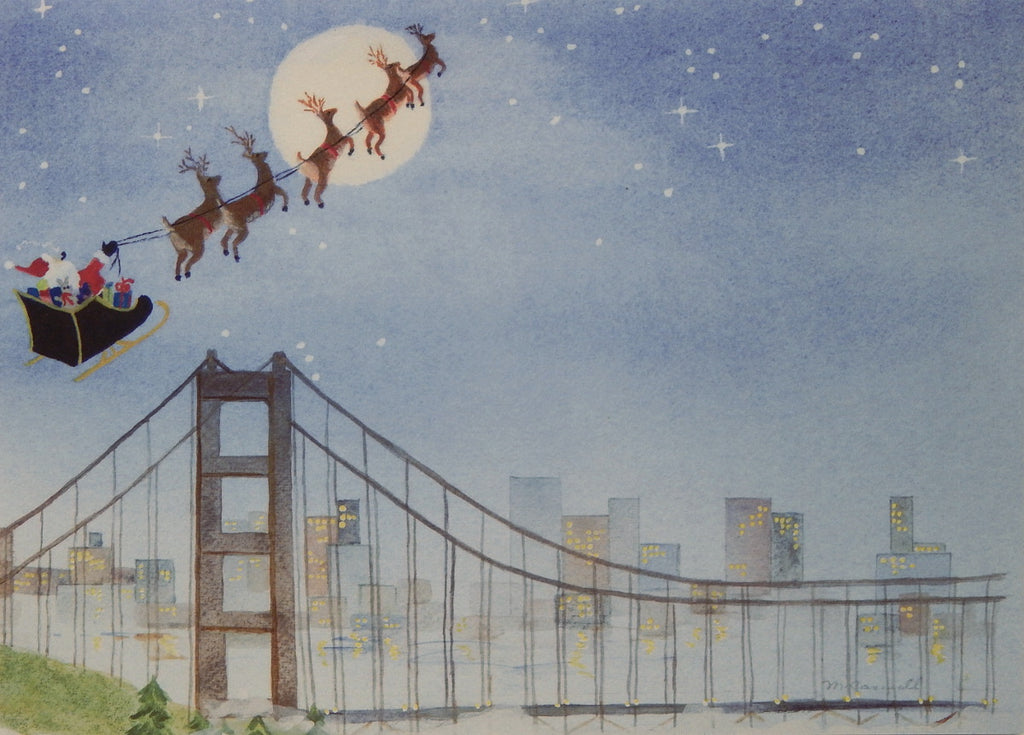 San Francisco Christmas Cards (#1000)<br>by East Coast Print Images