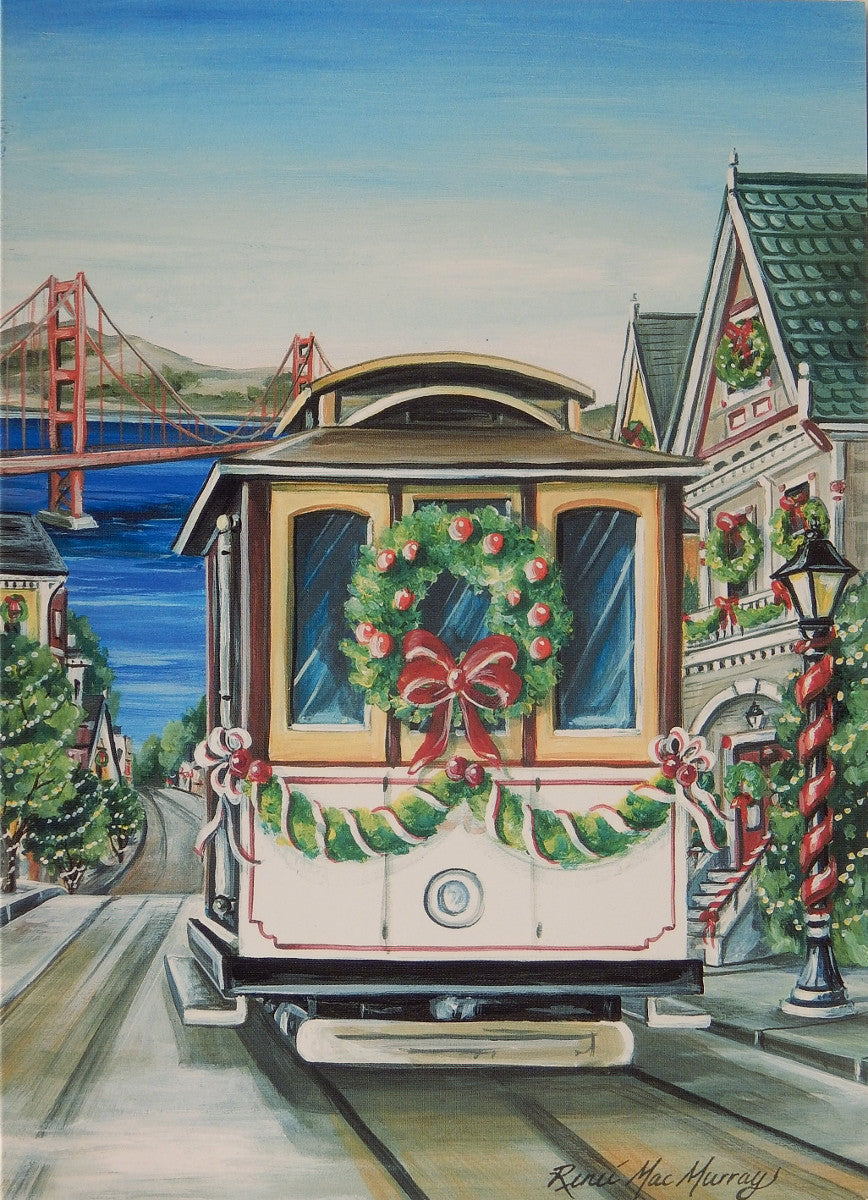 San Francisco Christmas Cards (#1001)<br>by East Coast Print Images