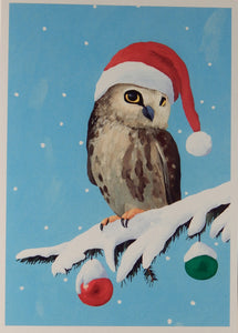 Bird Christmas Cards (#1007)<br>100% Recycled<br>by Allport Editions