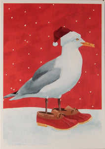 Bird Christmas Cards (#1011)<br>100% Recycled<br>by Allport Editions