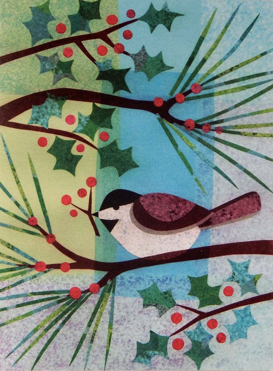 Bird Christmas Cards (#1013)<br>100% Recycled<br>by Allport Editions