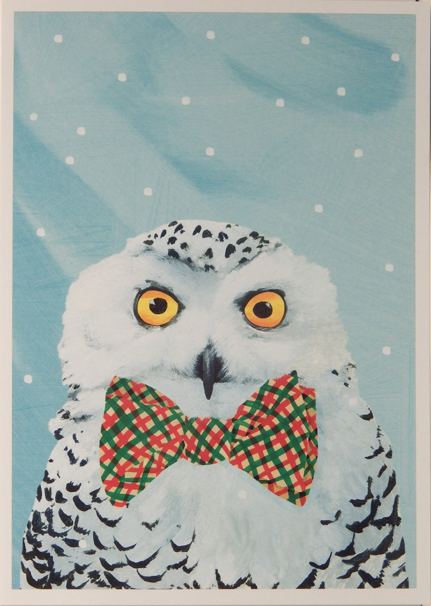 Bird Christmas Cards (#1016)<br>100% Recycled<br>by Allport Editions