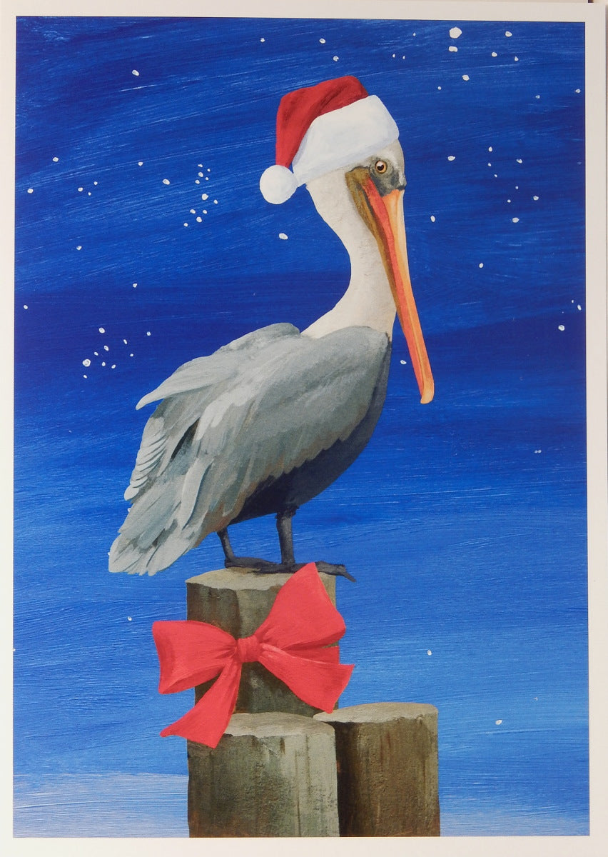 Bird Christmas Cards (#1017)<br>100% Recycled<br>by Allport Editions